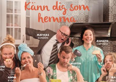 """Kalmarsundsrevyn """"Känn dig som hemma"""", jan – feb"""