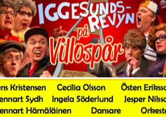 """Iggesundsrevyn """"På villospår"""" 31/12 – 25/3"""