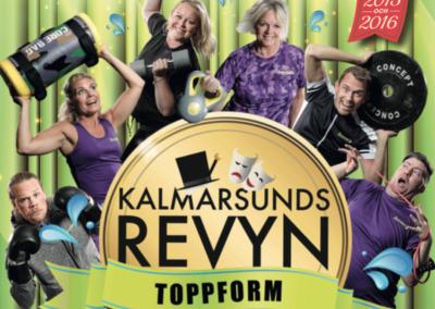 "Kalmarsundsrevyn ""Toppform"", jan – feb 2018"