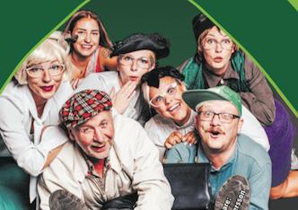 """Engelholmsrevyn """"En skrattfest för alla"""" 31 dec – 17 feb"""
